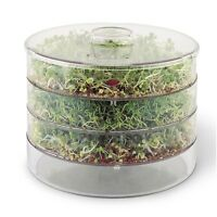 A Vogel Biosnacky Germinator Sprouting Large Jar - 3 Tier