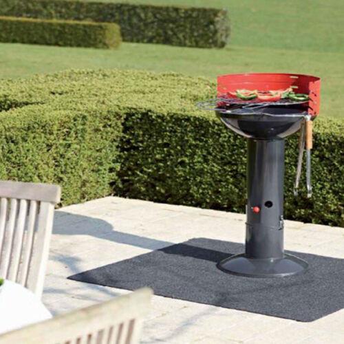 Grill BBQ De Coffre Feu azolés Sol Protection 120 x 100 cm sol paillasson terrasse