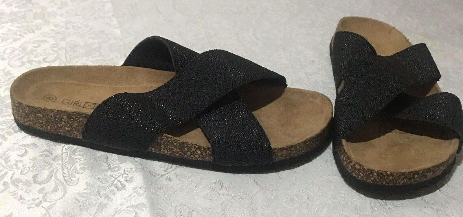 Girl Express 8 Size 8 Express Slip On Sandals 921195