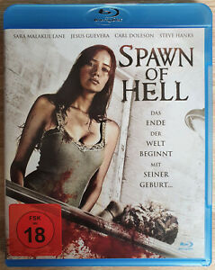 Spawn-of-Hell-12-12-12-Evil-Born-BLURAY-Sara-Malakul-Lane-come-nuovo-like-new