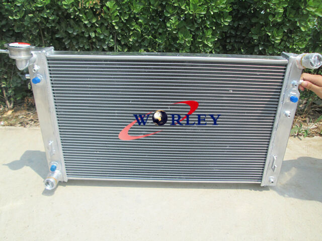 2Row Aluminum Radiator For Holden Commodore VT Series 2 1X O//C V6 AT//MT 97-99