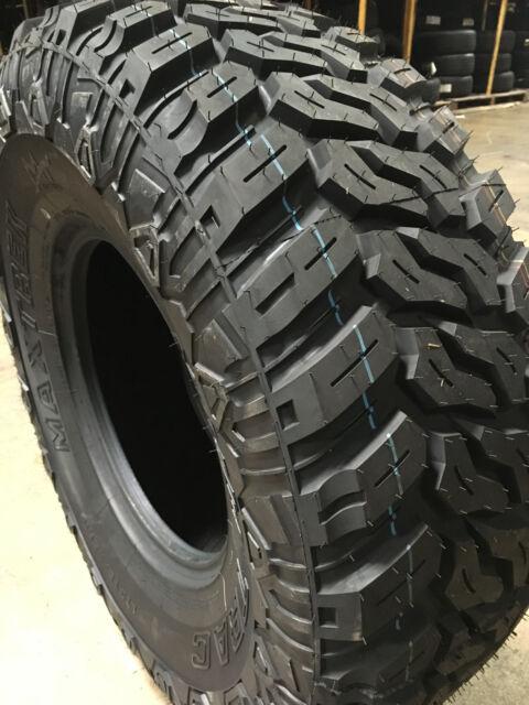4 NEW 35X12.50R17 Maxtrek Mud Trac M/T Tires MT 35125017 R17 1250R17 35 12.50 17
