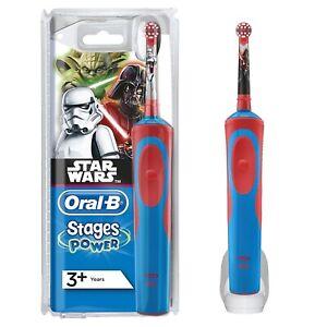 Dettagli su Braun Oral B Fasi Vitality Kids Spazzolino Elettrico per Bambini Star Wars mostra il titolo originale
