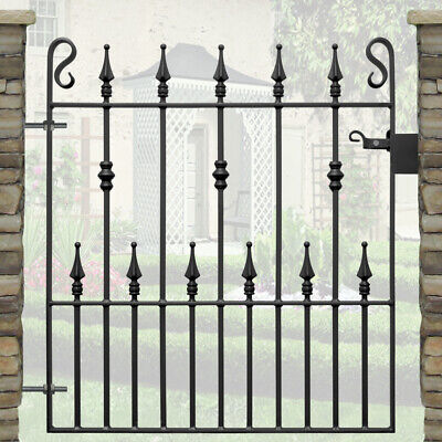 3 New Wrought Iron Gates Railings Metal Weldable Rail Heads Tops Spikes Spears