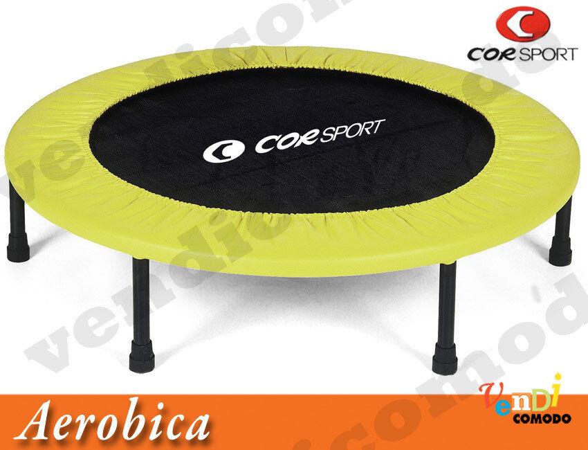 Trampolino CORSPORT diametro 98 cm aerobica salto trampolino elastico