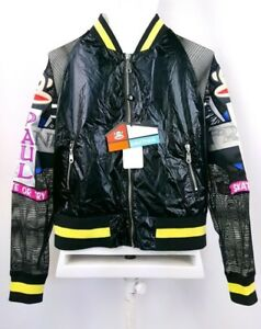 53ae11c2228 Paul Frank Bomber Jacket New With Tag Skater Streetwear Bling Glam ...