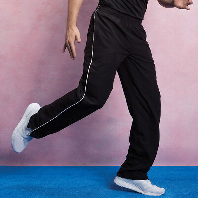 Gamegear Men/'s Track Pants Mesh Lined Tracksuit Bottoms Micro Fibre KK985