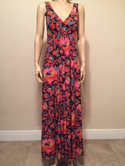 Natori Floral Sleeveless Nightgown Loungewear Knitted Fabric Choose Size NWT
