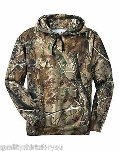 Russell-Outdoors-Mens-Realtree-AP-Camo-Sport-Hooded-Sweatshirt-Size-S-3XL-NEW