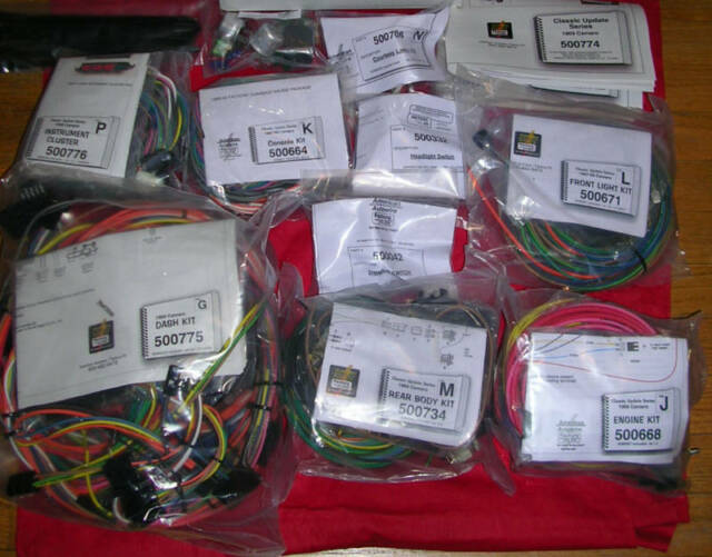 American Autowire 500686 Wire Harness System for 69 Camaro for sale online  | eBayeBay