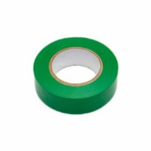 1x GREEN ELECTRICAL PVC INSULATION TAPE ROLL 18 mm x20m PROFESSIONAL 19 Flame