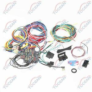 s l300 21 circuit wiring harness chevy mopar ford hotrods universal extra wiring harness chevy colorado at bayanpartner.co