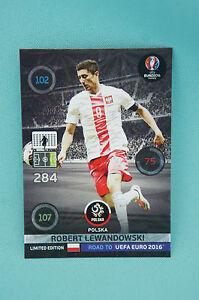 Panini-Adrenalyn-XL-Road-to-Uefa-Euro-2016-Robert-Lewandowski-Limited-Edition