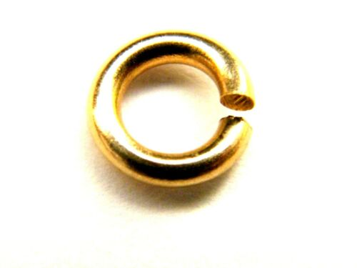 9mm 9ct Yellow Gold Jump Ring Extra Heavy For Albert Chains-T-Bar /& Swivel Clasp