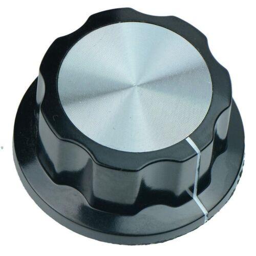 Large 45mm Potentiometer Knob Volume Amp Dial 6mm Hole for Shaft Radio Tuner DIY