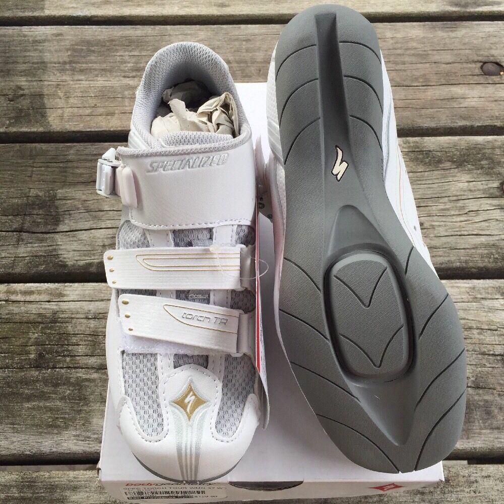 New-In-Box Women's Specialized Torch TR (Touring) Road Spin SPD White Size 37