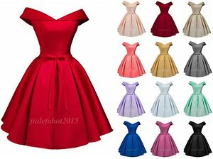 78b800b24ce Image is loading Simple-A-Line-Off-Shoulder-Prom-Dress-Homecoming-