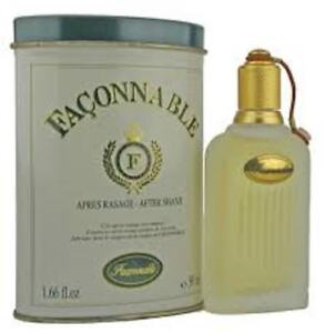 Details about 50ml Faconnable by Faconnable Aftershave For Men 1 6 oz Rare  BNIB Sealed