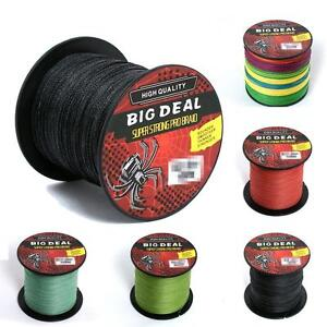 300m 10-100LB Dyneema 100%PE Spectra Braid Chic Trendy Fishing Line 5 Colors