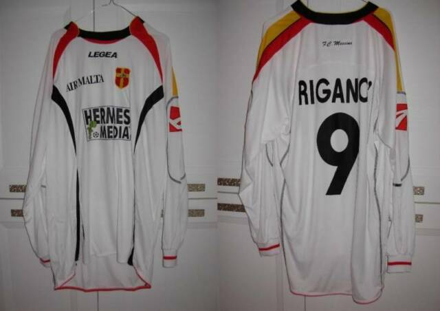 MAGLIA MESSINA 9 RIGANO' NO MATCH WORN LEXTRA HERMES MEDIA 06/07