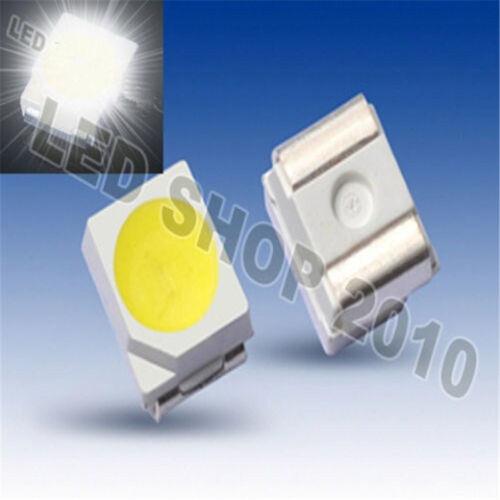 100PCS POWER TOP SMD SMT White PLCC-2 3528 1210 Super Bright Light LED