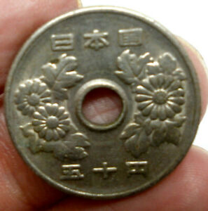 Moneda-Japon-50-Jenes-1949