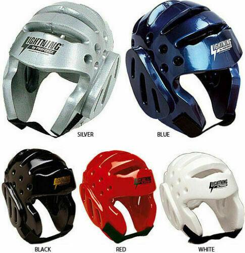 ProForce Lightning Karate Sparring Headgear Tae Kwon Do Head Guard Gear