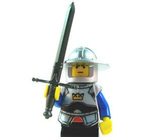 Black Brickarms U-Clip for Lego Minifigures Accessories or Mocs 5x