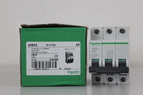Schneider Electric Leitungsschutzschalter 16A D 3P C60N 24602
