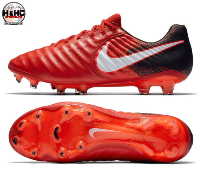 san francisco 2ef7c 32349 Nike Tiempo Legend VII FG 897752 616 RedWhite-Black Mens Soccer Cleats Sz