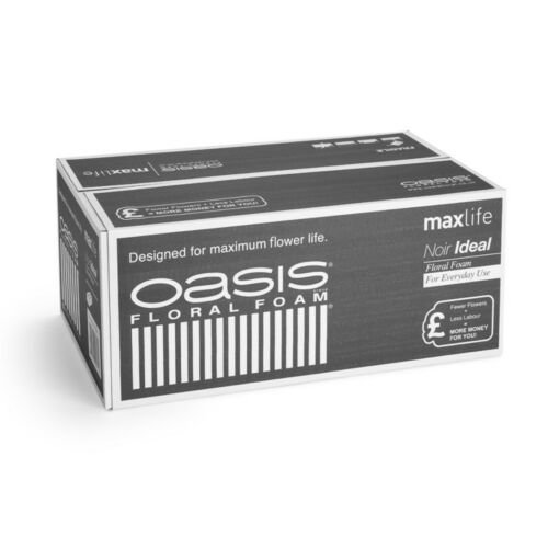 OASIS® Noir Ideal Floral Foam Maxlife Brick x 20 bricks weddings floristry