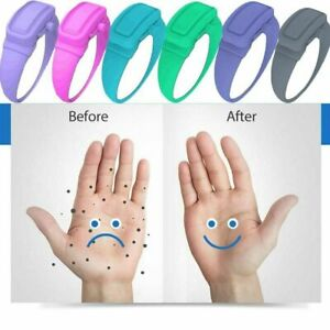 Silicone Soap Bracelet Wristband Hand Dispenser Band Squeeze Bottle Set Portable