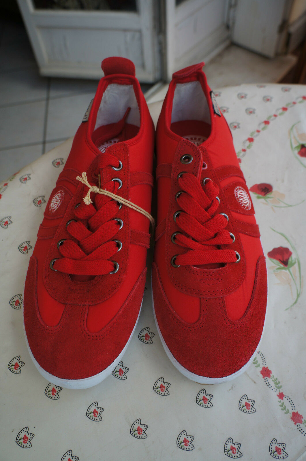 Replay Lavon, Baskets mode homme - red (0047 Red), 41