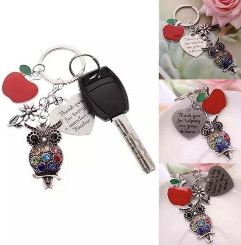 GIFT for a SPECIAL TEACHER Thank you Keyring