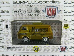 M2-Machines-1-64-Hobby-Only-2019-Mooneyes-Liquid-Gold-1965-FORD-ECONOLINE-VAN