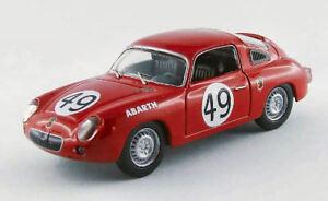 Fiat Abarth 850 S # 49 44e Lm 1960 Feret / Spychinger au 1/43 Meilleurs modèles