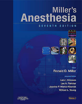 Miller's Anesthesia 2 volume set: Expert Consult - Online and Print, Young MD, W
