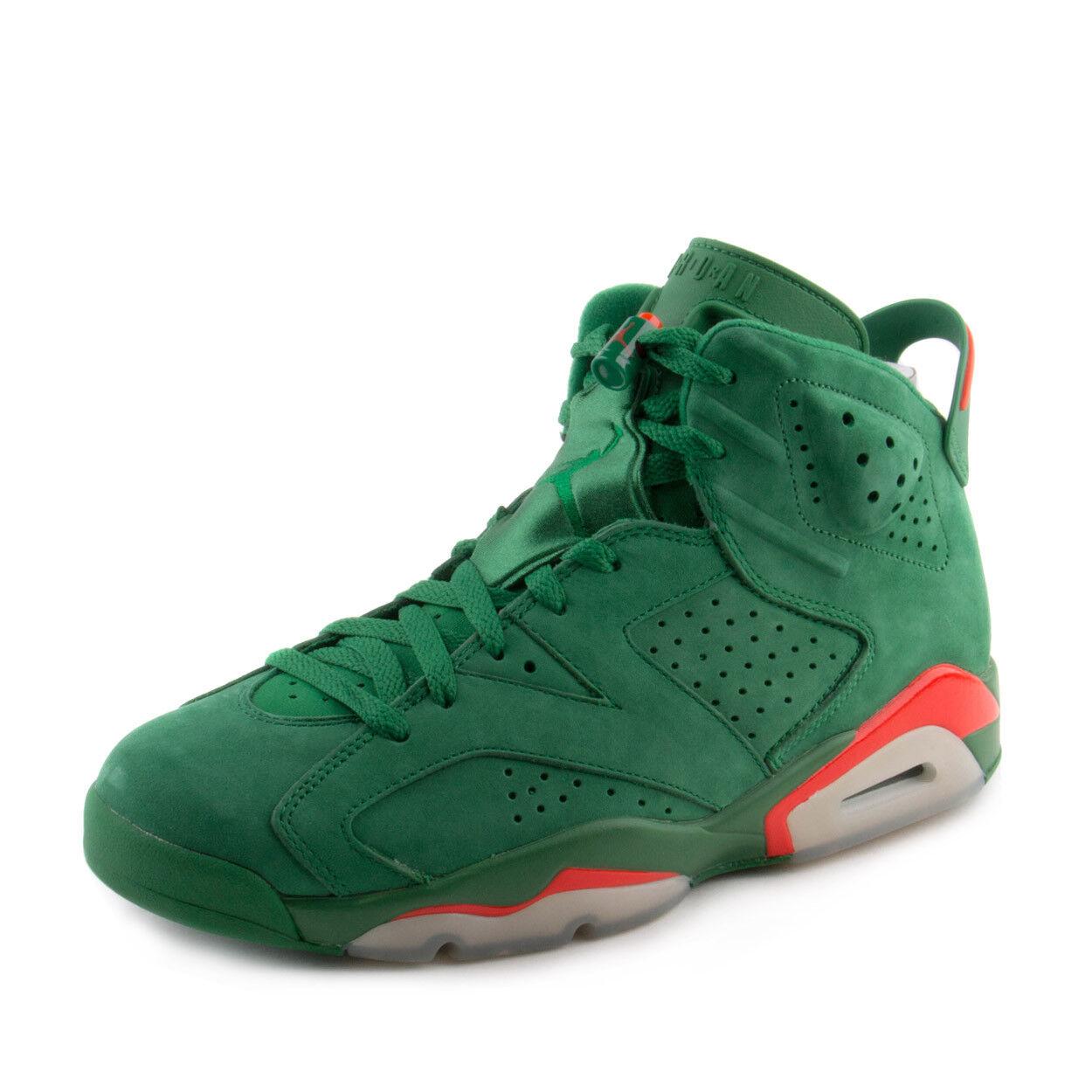 Nike Hommes Jordan vert 6 Retro