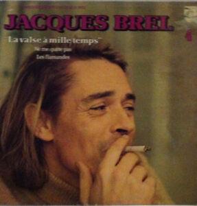 JACQUES-BREL-La-Valse-a-mille-temps-Disque-VINYL-LP-33-T-6325205-France-1959