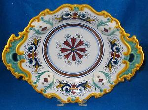 GP DERUTA CERAMICHE: Italian Hand Made Serving Bowl NEW | eBay