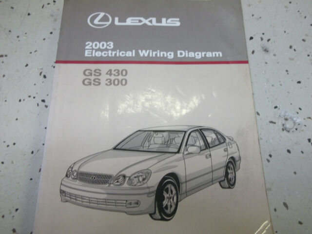 2003 Lexus Gs430 430 Gs300 Gs 300 Electrical Wiring