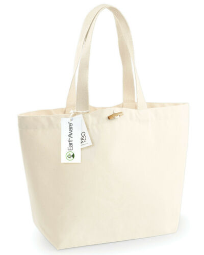WESTFORD MILL TOTE BAG SHOPPER 100/% ORGANIC COTTON ECO PREMIUM DURABLE STRONG