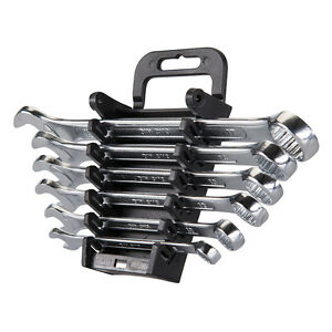 Silverline-Combination-Spanner-Set-6pce-8-17mm-Metric-SP10