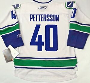 new styles 07c4c a1c7b Details about NWT ELIAS PETTERSSON VANCOUVER CANUCKS REEBOK S/M YOUTH NHL  HOCKEY JERSEY