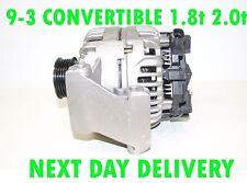 SAAB 9-3 CONVERTIBLE 1.8t 2.0t 2003 2004 2005 2006 2007   NEW RMFD ALTERNATOR