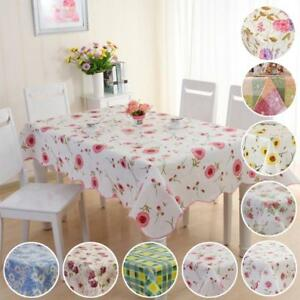 Waterproof-Oil-Proof-PVC-Table-Cloth-Cover-Home-Dining-Kitchen-Tablecloth-DQUS