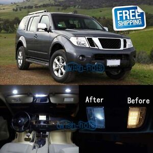 Image Is Loading White LED Lights Interior Package Kit For 2005