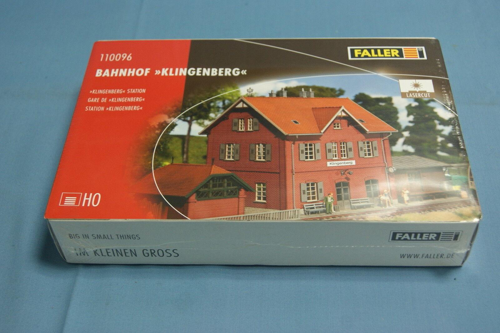 Faller 110096  Klingenberg  Station    Kit   HO