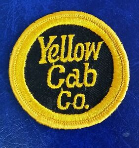 Details about VINTAGE YELLOW CAB COMPANY CO PATCH