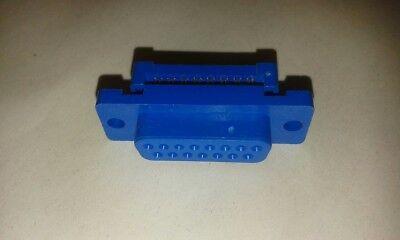 2 X 15 Pin D-presa Di Tipo Nastro Connettore Porta Seriale Job Lotto Uk #vid54- Luminoso E Traslucido Nell'Apparenza